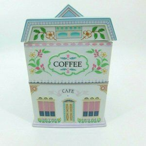The Lenox Village Canisters Coffee Cafe 1990